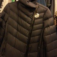 Sam Edelman Pryce Quilted Down Coat wit