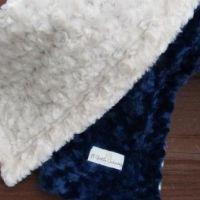 Dynasty Minky Blanket - Grey  x 1 USD54