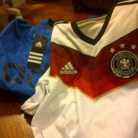 Adidas Bag and Soccer T-shirt