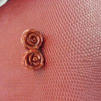 玫瑰之戀珊瑚耳環 x 1 TWD999Orig
