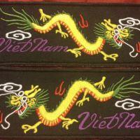 Yellow body green back Viet pair