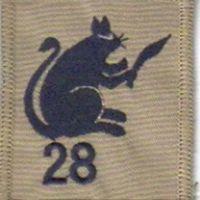 28th Gurkhas Desert rat Badge
