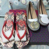Tory Burch shoes x 2