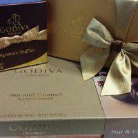 Godiva gift box