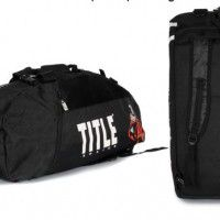 Title boxing back pack