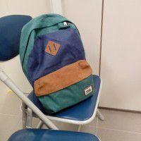 vans old shool ll backpack color: peaco