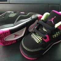 Girls Toddler Jordan Retro 4 Basketball