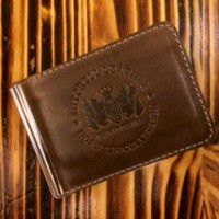 Mitchell Leather Money Clip Wallet