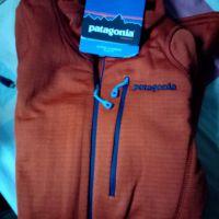 Patagonia r1 pullover copper