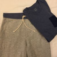 JCrew factory shorts and tee