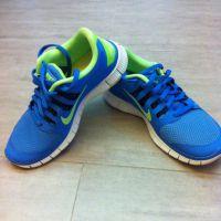Nike Free 5.0 Running Sneakers Mesh Blue