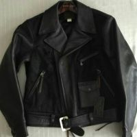 rl leather jacket